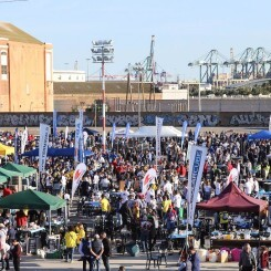 La falla Dr. J.J. Domine-Port organiza el XXXI concurso mundial de paellas