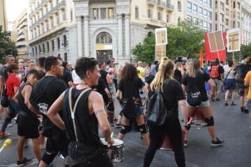 Marcha en València del Orgullo LGTBI+ para celebrar los avances y no dar ni un paso atrás en derechos (104)