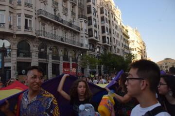 Marcha en València del Orgullo LGTBI+ para celebrar los avances y no dar ni un paso atrás en derechos (11)