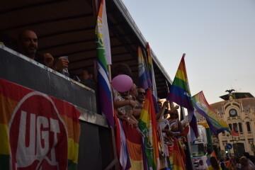 Marcha en València del Orgullo LGTBI+ para celebrar los avances y no dar ni un paso atrás en derechos (113)