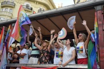 Marcha en València del Orgullo LGTBI+ para celebrar los avances y no dar ni un paso atrás en derechos (128)