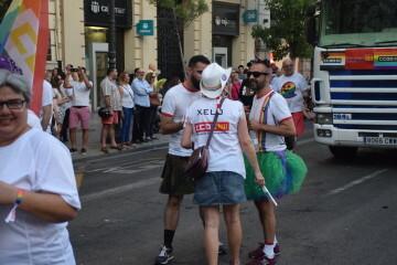 Marcha en València del Orgullo LGTBI+ para celebrar los avances y no dar ni un paso atrás en derechos (129)