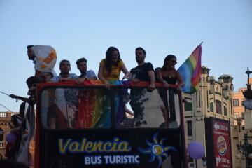 Marcha en València del Orgullo LGTBI+ para celebrar los avances y no dar ni un paso atrás en derechos (137)