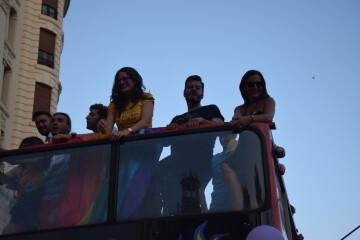 Marcha en València del Orgullo LGTBI+ para celebrar los avances y no dar ni un paso atrás en derechos (138)