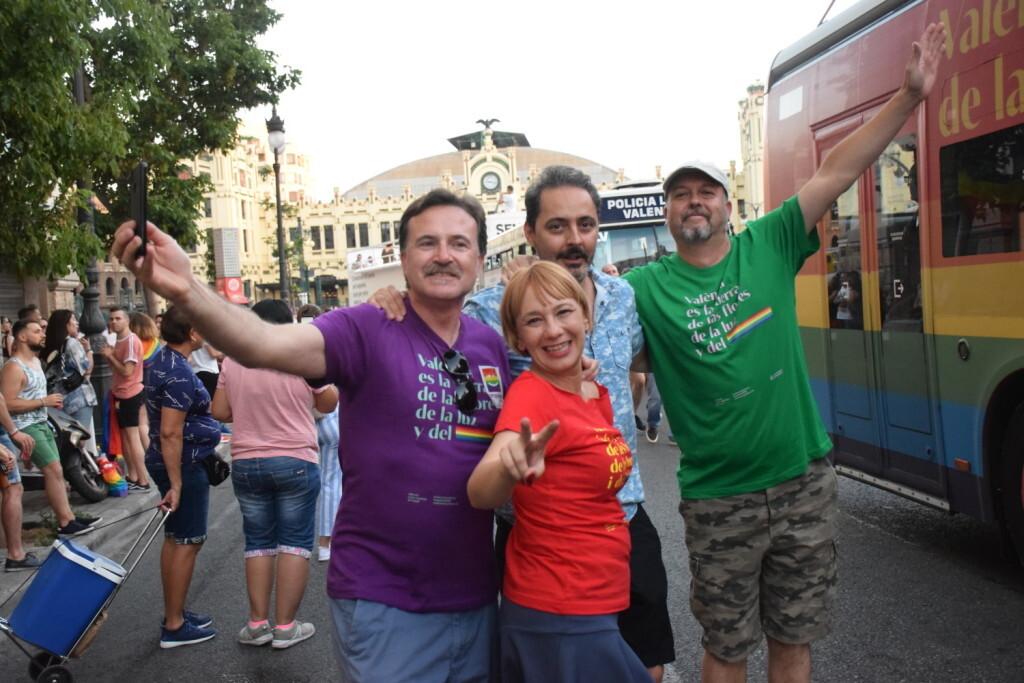 Marcha en València del Orgullo LGTBI+ para celebrar los avances y no dar ni un paso atrás en derechos (179)