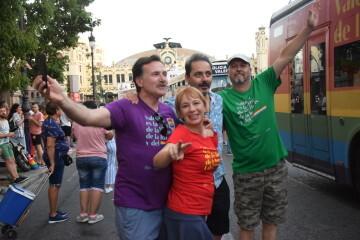Marcha en València del Orgullo LGTBI+ para celebrar los avances y no dar ni un paso atrás en derechos (180)