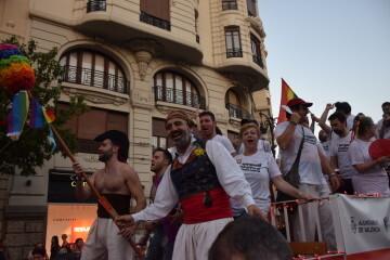 Marcha en València del Orgullo LGTBI+ para celebrar los avances y no dar ni un paso atrás en derechos (205)