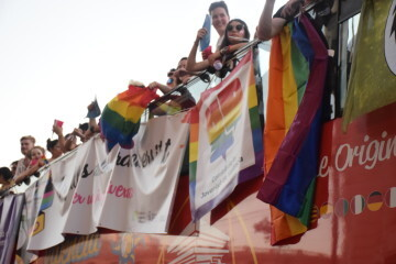 Marcha en València del Orgullo LGTBI+ para celebrar los avances y no dar ni un paso atrás en derechos (208)