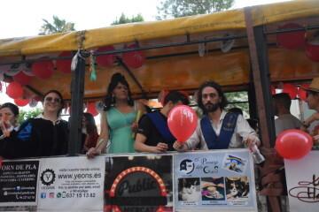 Marcha en València del Orgullo LGTBI+ para celebrar los avances y no dar ni un paso atrás en derechos (217)
