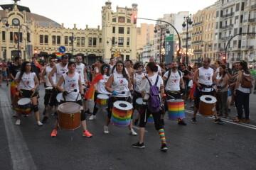Marcha en València del Orgullo LGTBI+ para celebrar los avances y no dar ni un paso atrás en derechos (228)