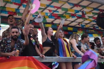 Marcha en València del Orgullo LGTBI+ para celebrar los avances y no dar ni un paso atrás en derechos (241)