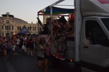 Marcha en València del Orgullo LGTBI+ para celebrar los avances y no dar ni un paso atrás en derechos (248)