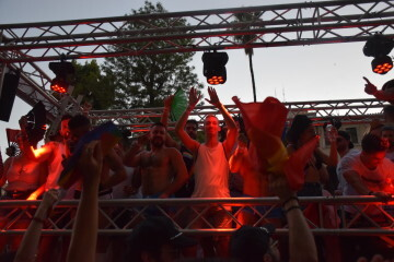 Marcha en València del Orgullo LGTBI+ para celebrar los avances y no dar ni un paso atrás en derechos (283)