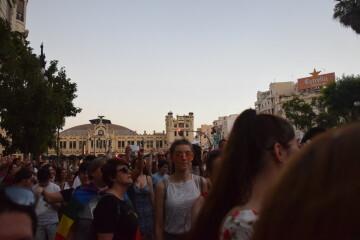 Marcha en València del Orgullo LGTBI+ para celebrar los avances y no dar ni un paso atrás en derechos (285)