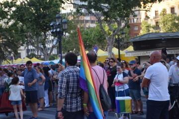 Marcha en València del Orgullo LGTBI+ para celebrar los avances y no dar ni un paso atrás en derechos (3)