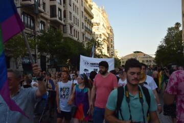 Marcha en València del Orgullo LGTBI+ para celebrar los avances y no dar ni un paso atrás en derechos (30)
