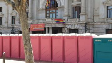 Marcha en València del Orgullo LGTBI+ para celebrar los avances y no dar ni un paso atrás en derechos (308)