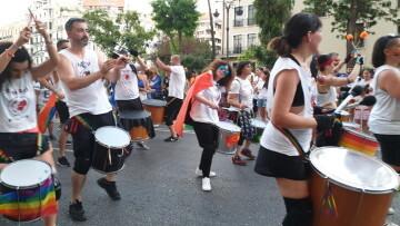 Marcha en València del Orgullo LGTBI+ para celebrar los avances y no dar ni un paso atrás en derechos (327)