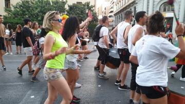Marcha en València del Orgullo LGTBI+ para celebrar los avances y no dar ni un paso atrás en derechos (329)