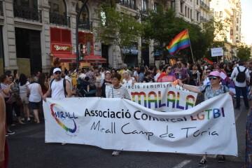 Marcha en València del Orgullo LGTBI+ para celebrar los avances y no dar ni un paso atrás en derechos (33)
