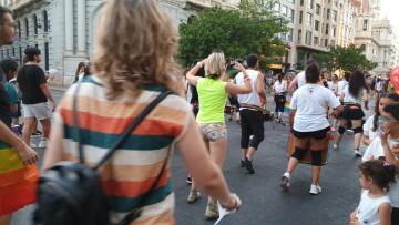 Marcha en València del Orgullo LGTBI+ para celebrar los avances y no dar ni un paso atrás en derechos (330)