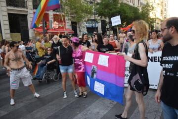 Marcha en València del Orgullo LGTBI+ para celebrar los avances y no dar ni un paso atrás en derechos (34)