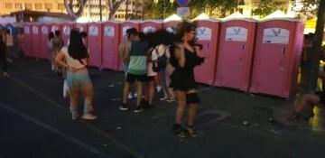 Marcha en València del Orgullo LGTBI+ para celebrar los avances y no dar ni un paso atrás en derechos (345)