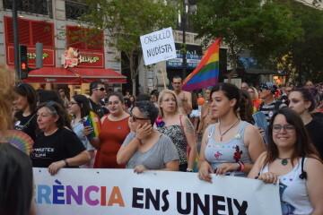 Marcha en València del Orgullo LGTBI+ para celebrar los avances y no dar ni un paso atrás en derechos (35)