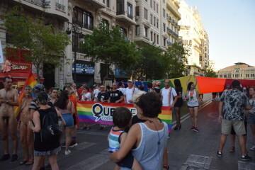 Marcha en València del Orgullo LGTBI+ para celebrar los avances y no dar ni un paso atrás en derechos (37)