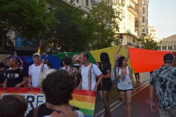 Marcha en València del Orgullo LGTBI+ para celebrar los avances y no dar ni un paso atrás en derechos (38)