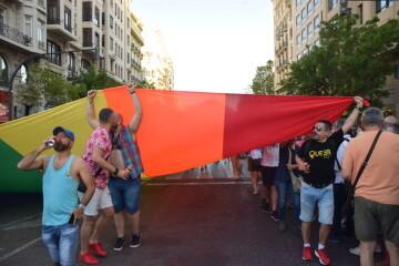 Marcha en València del Orgullo LGTBI+ para celebrar los avances y no dar ni un paso atrás en derechos (44)