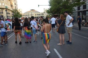 Marcha en València del Orgullo LGTBI+ para celebrar los avances y no dar ni un paso atrás en derechos (86)