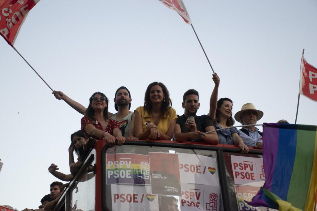 Sandra Gomez marcha del Orgullo LGTBI+ en Valencia_5 (2)