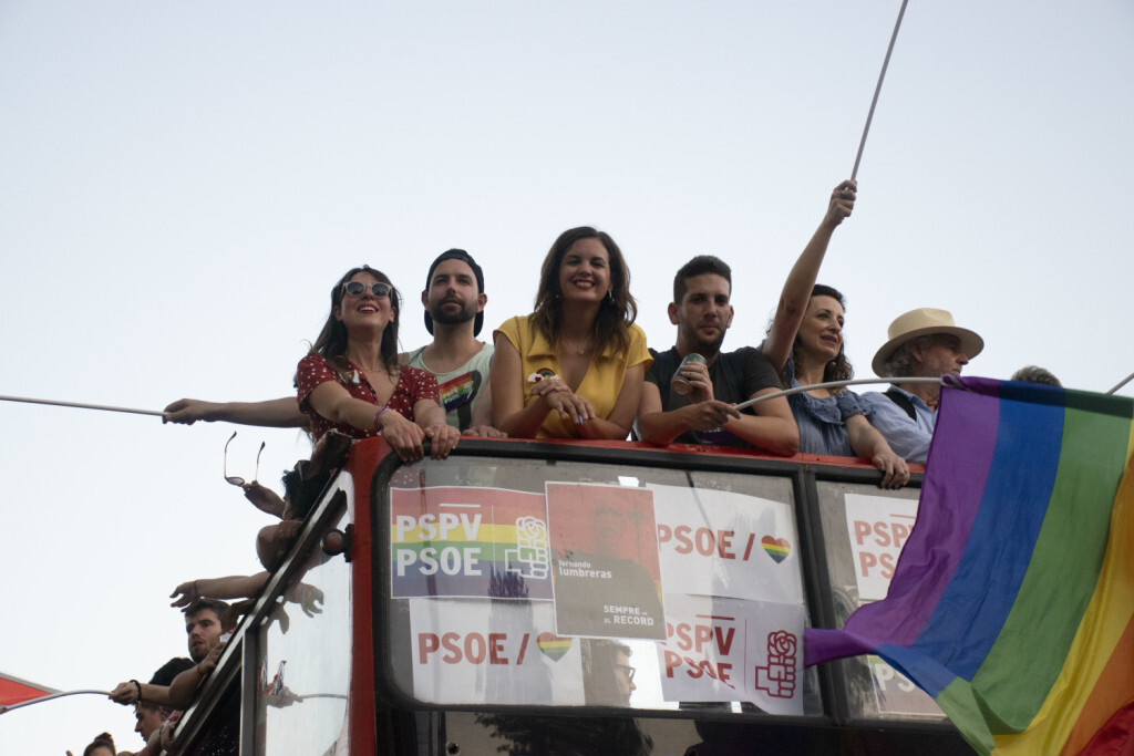 Sandra Gomez marcha del Orgullo LGTBI+ en Valencia_5 (5)
