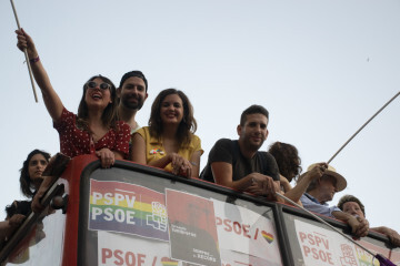 Sandra Gomez marcha del Orgullo LGTBI+ en Valencia_5 (6)