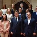 Los consellers prometen sus cargos y Puig apela a la responsabilidad individual en un gobierno único y diverso
