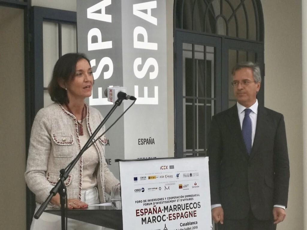 Foro empresarial España-Marruecos 1