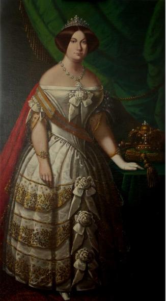 Foto quadre Isabel II