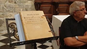 Un libro da brillo al papel heroico del sacerdote que salvó el Santo Cáliz de València de las tropas napoleónicas (5)