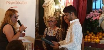 """La actriz María Isabel Díaz Lago recibe el reconocimiento artístico """"Valencia 2019, Ciudad del Grial"""". 20190820_232034 (490)"""