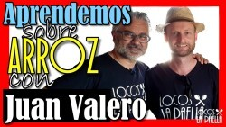Aprendemos de arroz con Juan Valero arroces Tartana