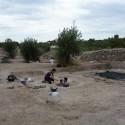 El hallazgo de una sala noble en Riba-Roja saca al descubierto una ciudad visigoda del siglo VI