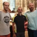 Antonio Aiardi, primer peregrino internacional en recorrer a pie los 518 kms del camino del Santo Grial