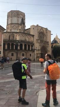 Antonio Aiardi, primer peregrino internacional en recorrer a pie los 518 kms del camino del Santo Grial (13)