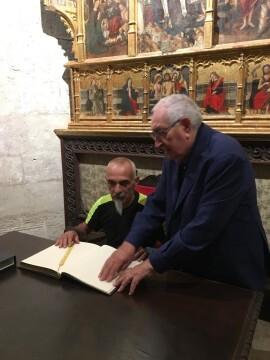 Antonio Aiardi, primer peregrino internacional en recorrer a pie los 518 kms del camino del Santo Grial (14)
