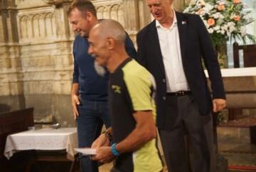 Antonio Aiardi, primer peregrino internacional en recorrer a pie los 518 kms del camino del Santo Grial (16)