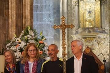 Antonio Aiardi, primer peregrino internacional en recorrer a pie los 518 kms del camino del Santo Grial (19)