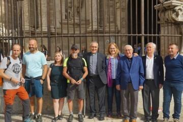 Antonio Aiardi, primer peregrino internacional en recorrer a pie los 518 kms del camino del Santo Grial (21)