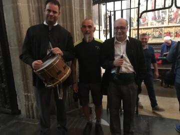 Antonio Aiardi, primer peregrino internacional en recorrer a pie los 518 kms del camino del Santo Grial (23)
