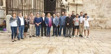 Antonio Aiardi, primer peregrino internacional en recorrer a pie los 518 kms del camino del Santo Grial (24)